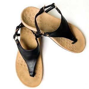 Vionic Rest Kirra Slingback Flat Sandals